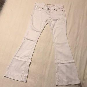 Women's white jeans